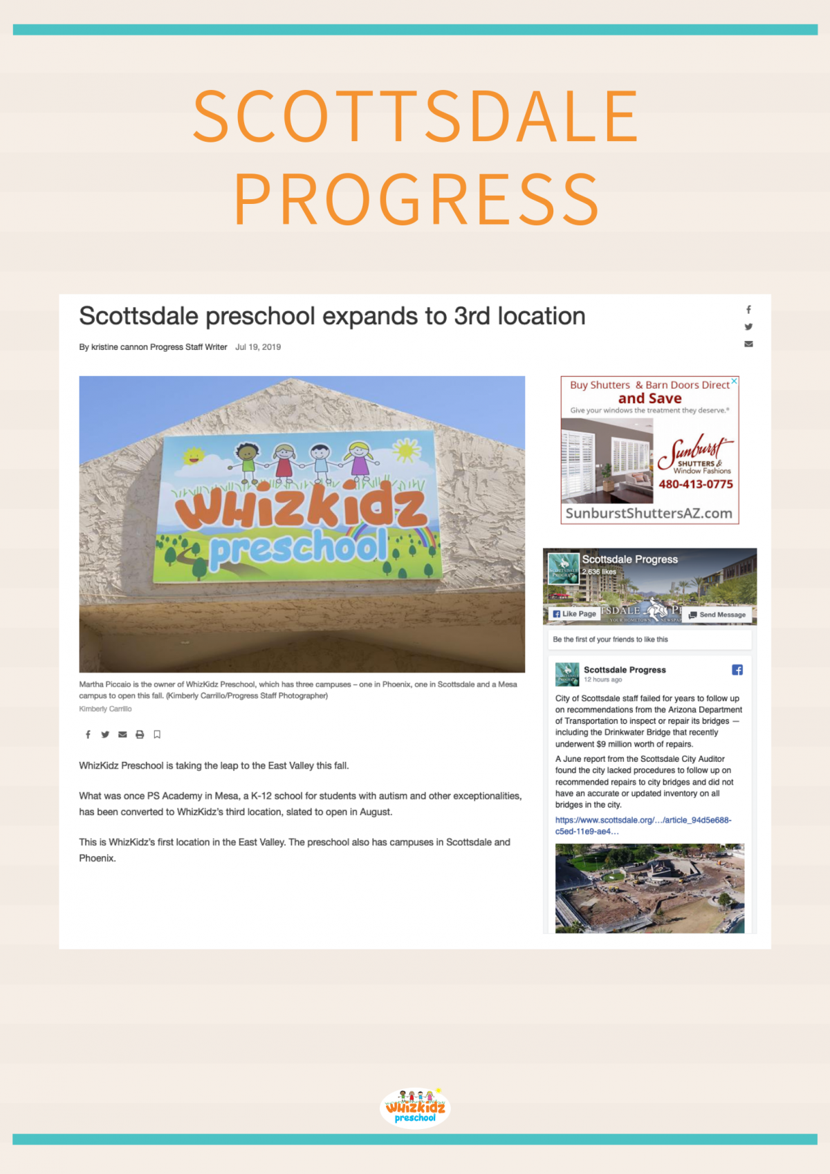 Scottsdale preschool expands to 3rd location